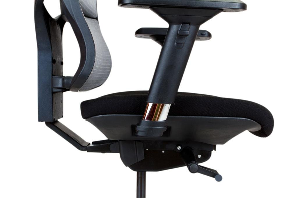 Állítható ülésmélység az Emagra TAO X4 székekbe.